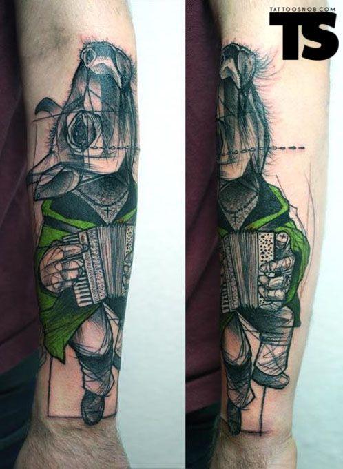 Tattoo Snob Dance Me To The End Of Love Tatuaggi