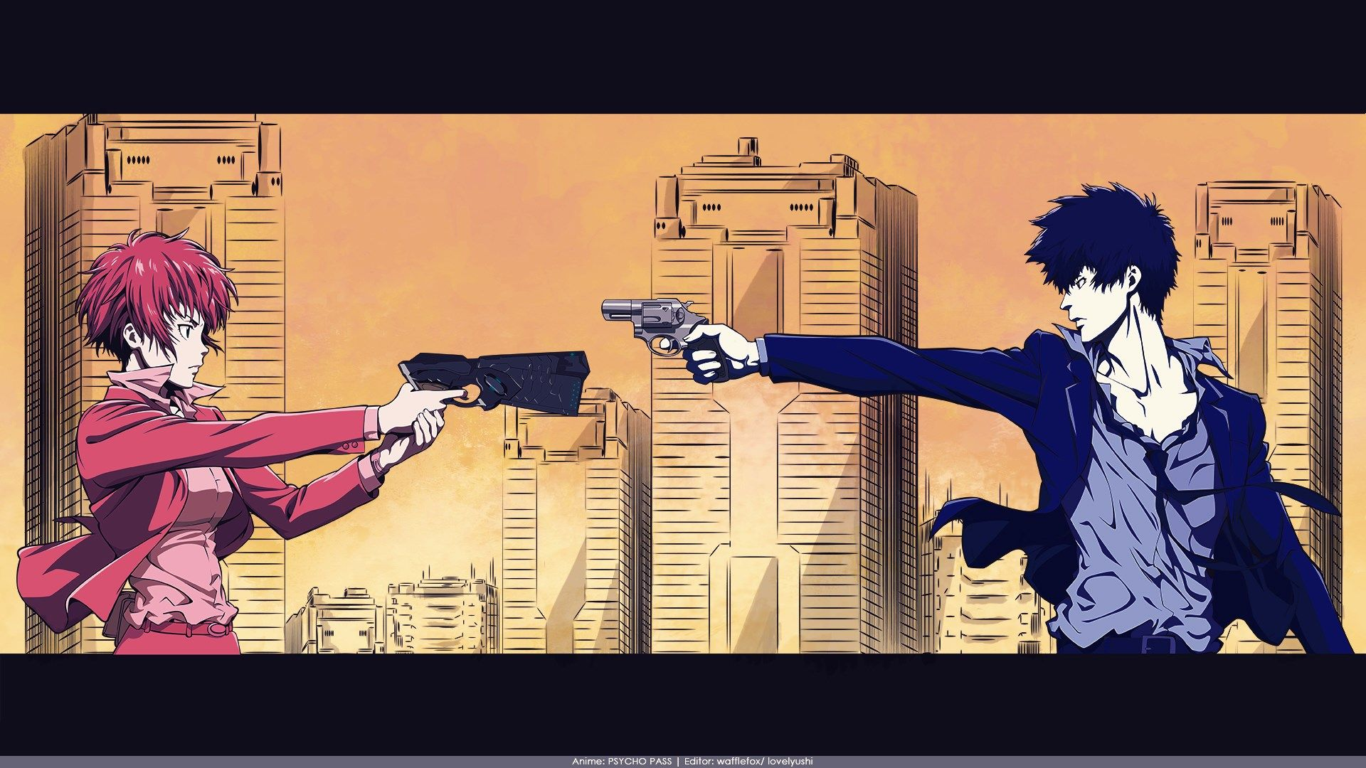 Psycho Pass Wallpaper Collection 1920x1080 Psycho Pass Anime Psychos