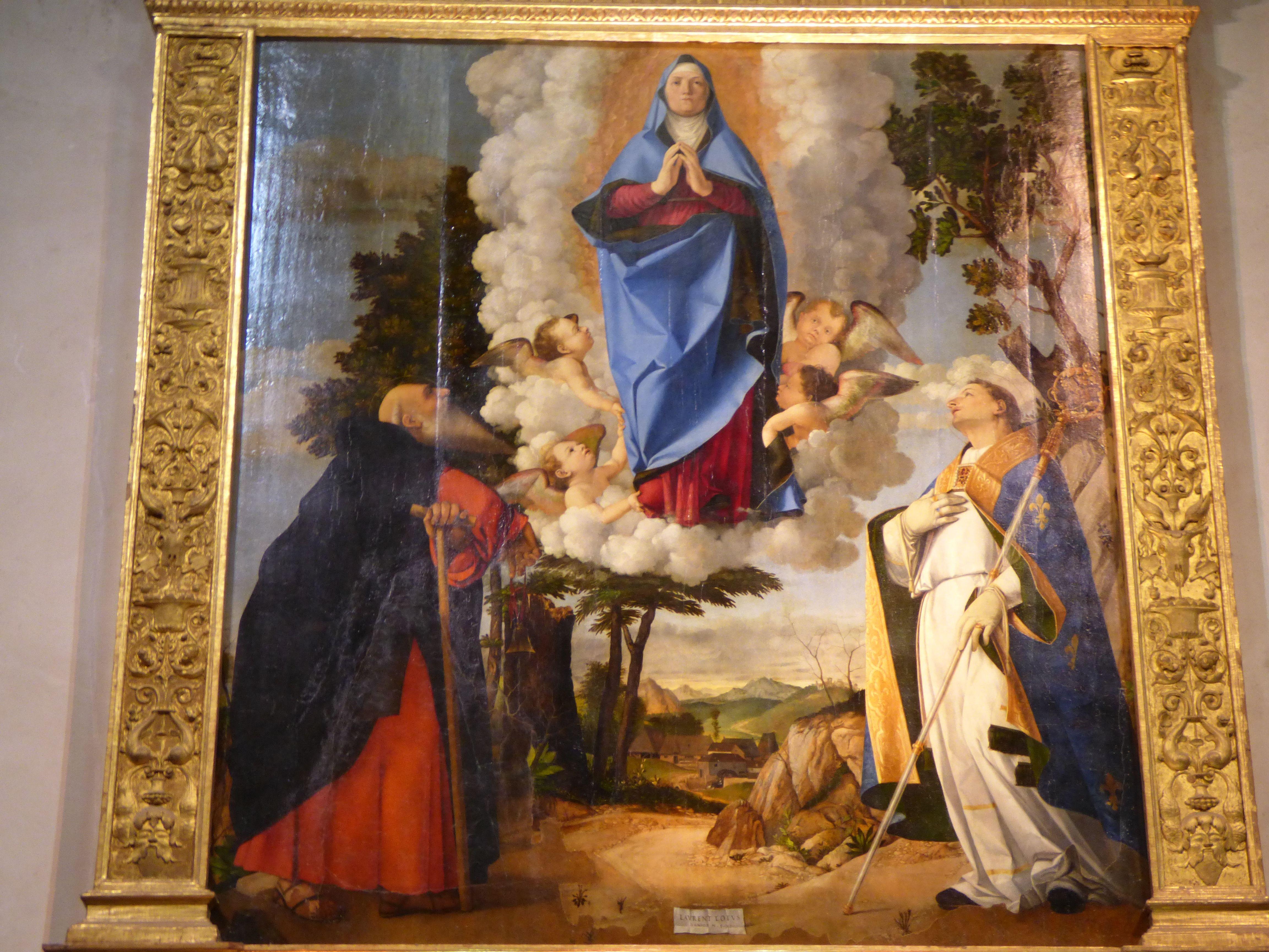 Duomo di Asolo.Lorenzo Lotto.