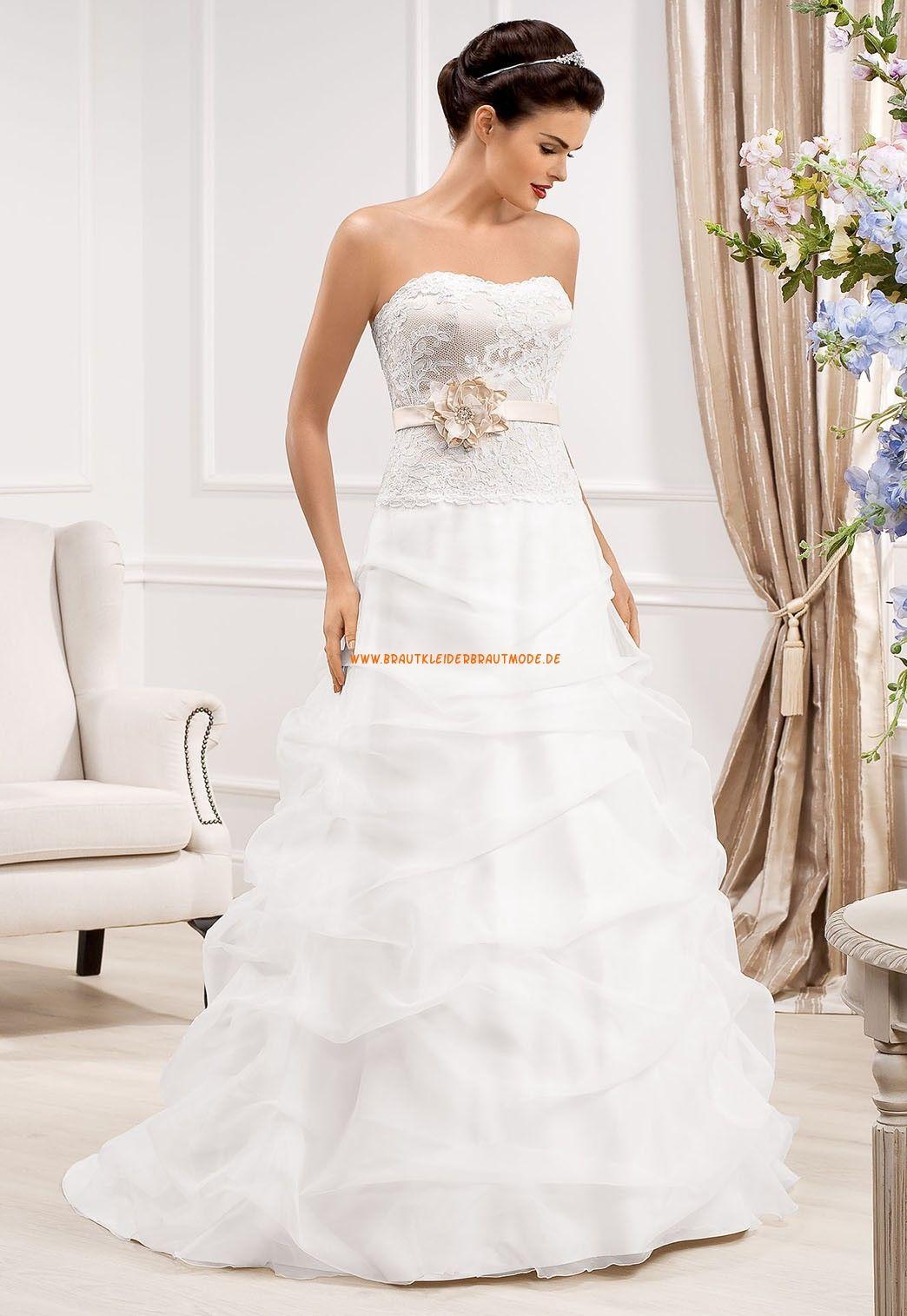 Süße Liebste Brautkleider aus Organza
