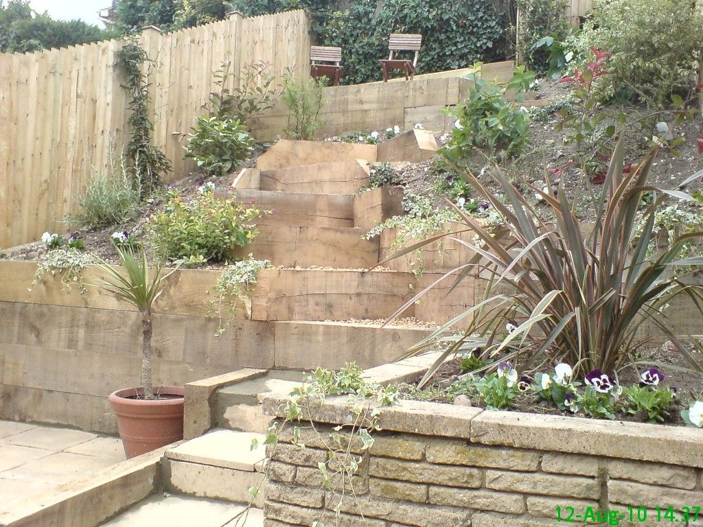 Landscaping A Yard With A Hill Dramaticideal Landscaping Steep