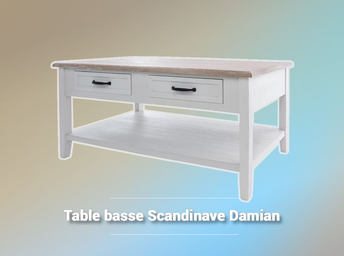 Table Basse Scandinave Damian La Foir Fouille Mobilier De Salon Table Basse Meuble Salon