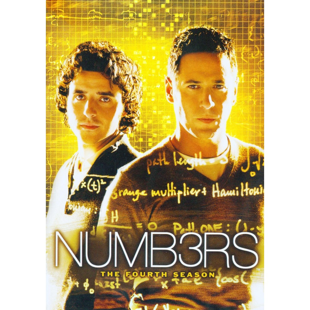 Numb3rs The Fourth Season Dvd In 2021 Numbers Tv Show Tv Series Great Tv Shows