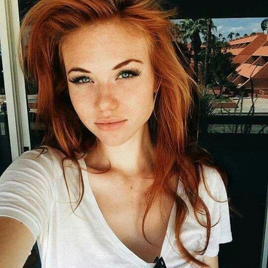 Gorgeous Redhead Face
