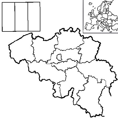 Carte Belgique Geel.Dessin Belgique Carte Belgique Coloriage Carte Belgique