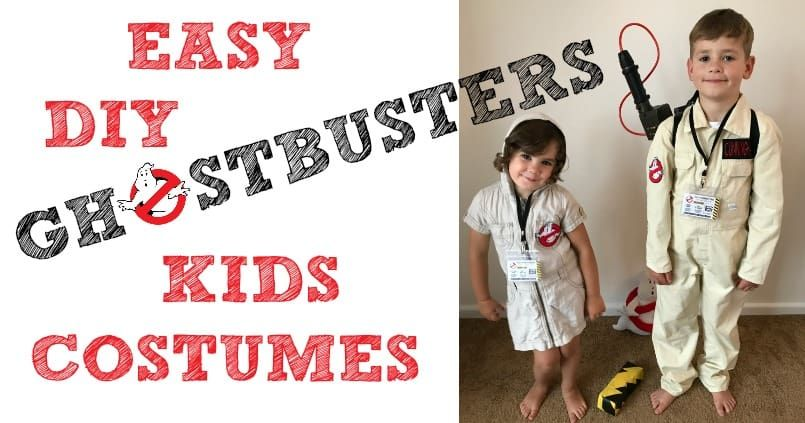 Kids halloween costumes cool ghostbusters diy fancy dress ideas for cool ghostbusters diy fancy dress ideas for babies toddlers and kids at halloween easy homemade costumes to dress up to go trick or treating solutioingenieria Images