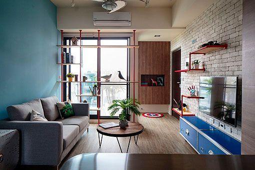 Apartamento juvenil y moderno salón Home Decor Pinterest