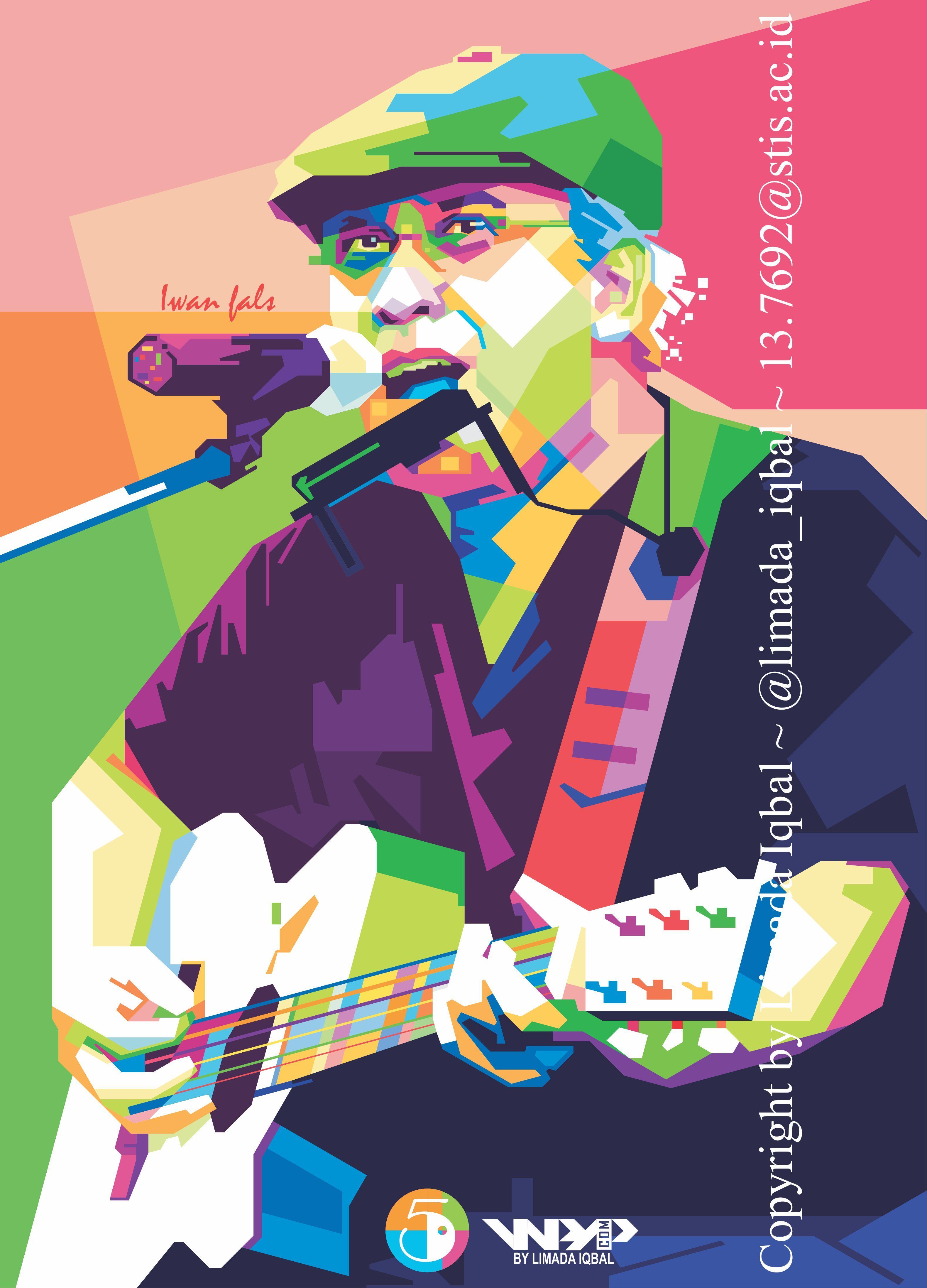 Vector Iwan Fals : vector, Iwanfals, #wpap, #illustrator, #vector, #singer, #indonesia, #fullcolor