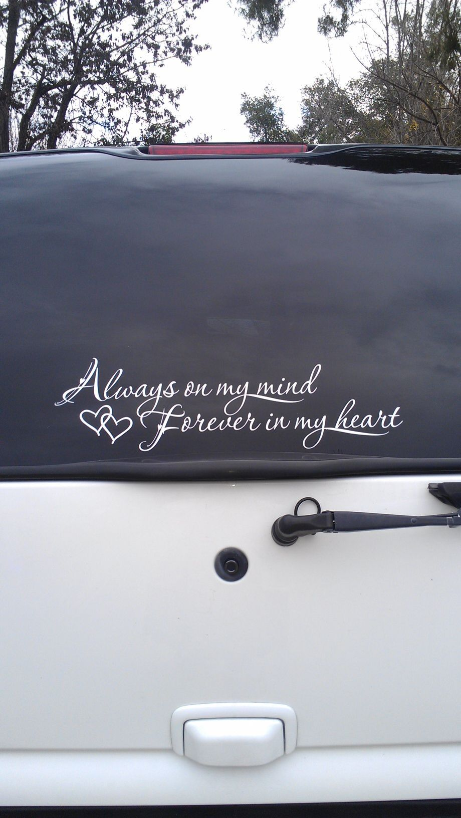 Custom Memorial Car Decals