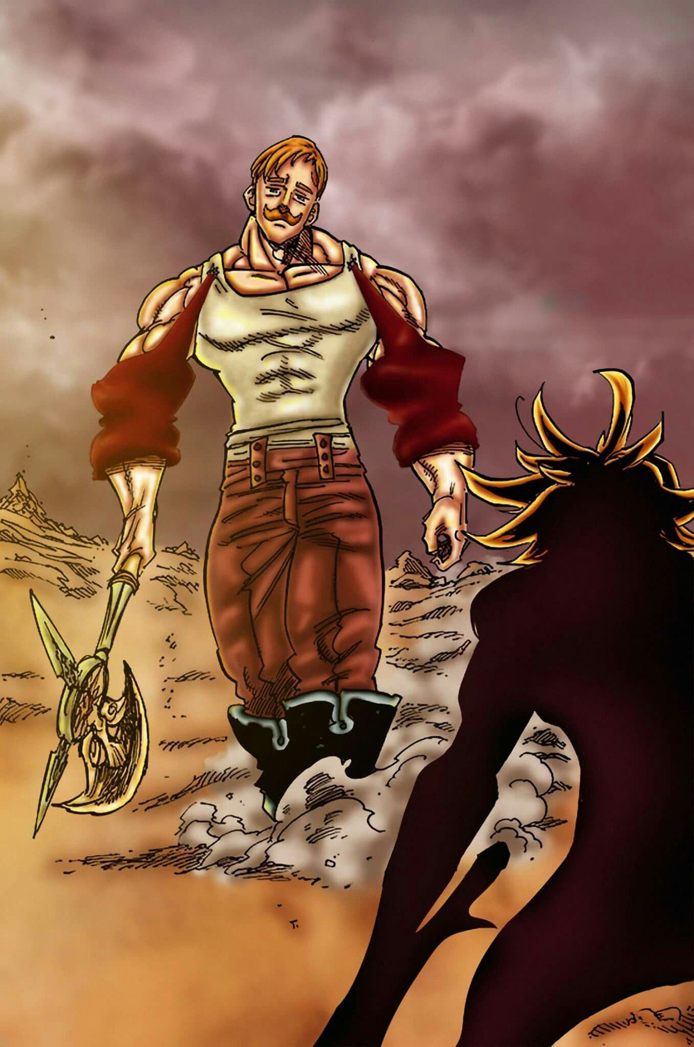 Escanor vs Meliodas