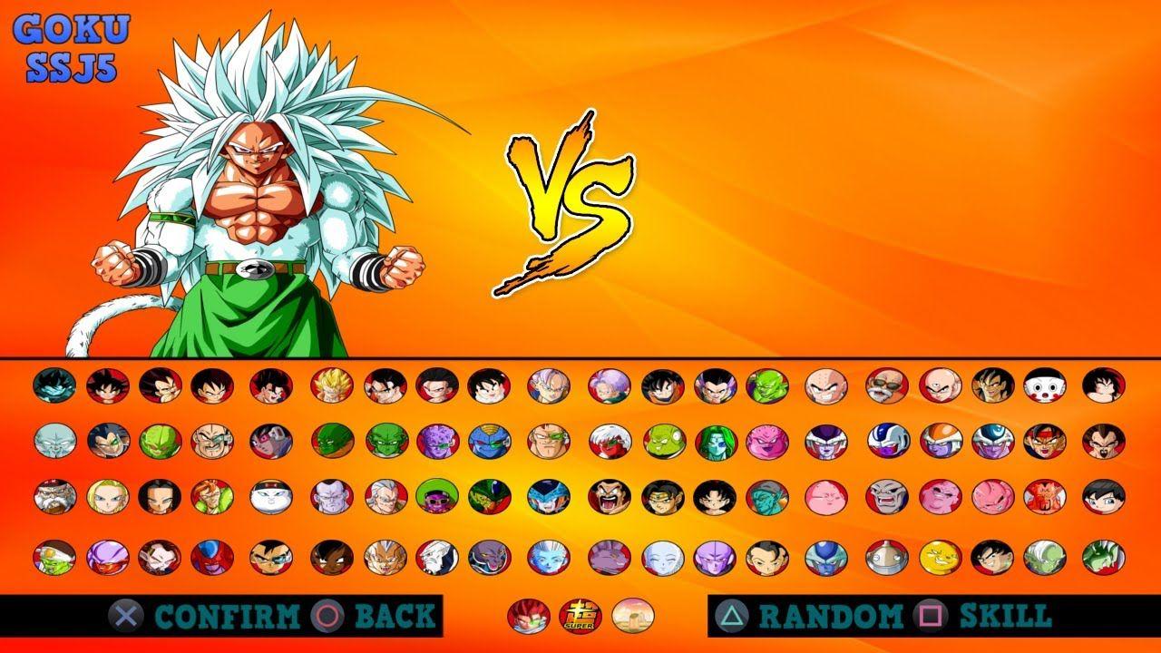 Dragon Ball Raging Blast 3 Roster Concept Design Fanmade Project Concept Design Dragon Ball Concept