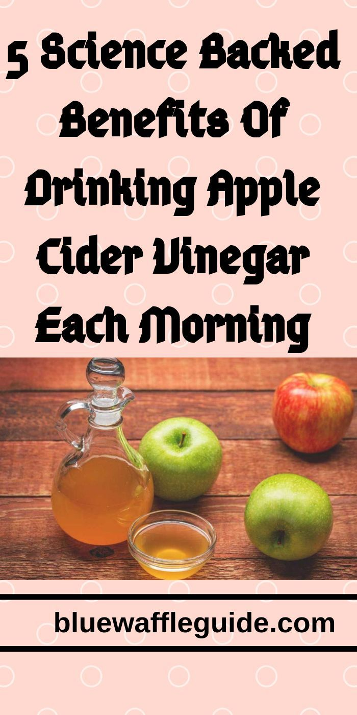 5 science backed benefits of drinking apple cider vinegar