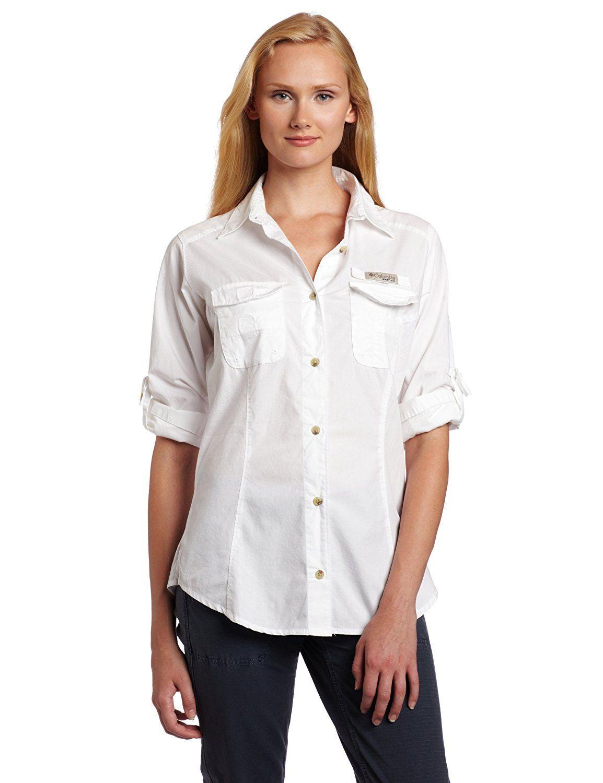 Plus size womens flannel shirt  Columbia Womenus Bonehead Long Sleeve Shirt ue Special product just