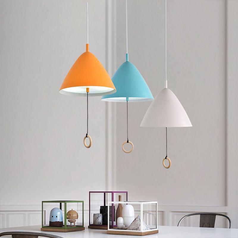 Craftsman Style 1 Light Mini Pendant Light With Metal Shade