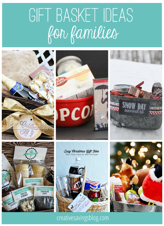 Homemade Gift Basket Ideas For Families Crazy Homemade