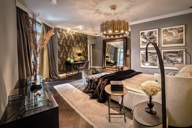 Bedroom At Thomas Herrendorf Interior Design Berlin