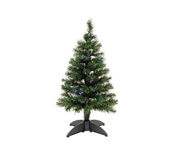 Buy 3ft Mini Fibre Optic Christmas Tree - Green at Argos.co.uk, - Buy 3ft Mini Fibre Optic Christmas Tree - Green At Argos.co.uk