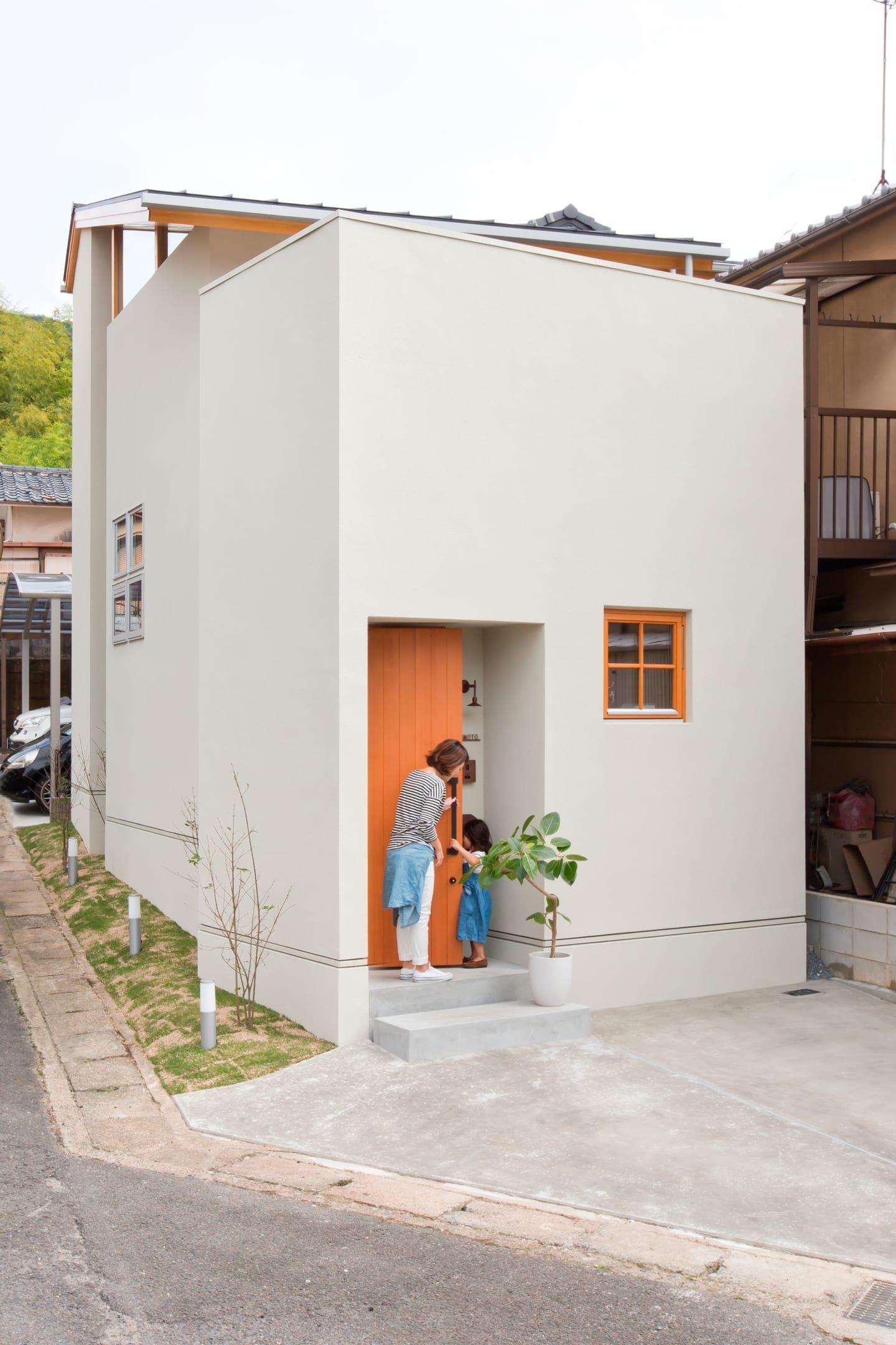 Minimalist Japanese House Design Exterior Trendecors