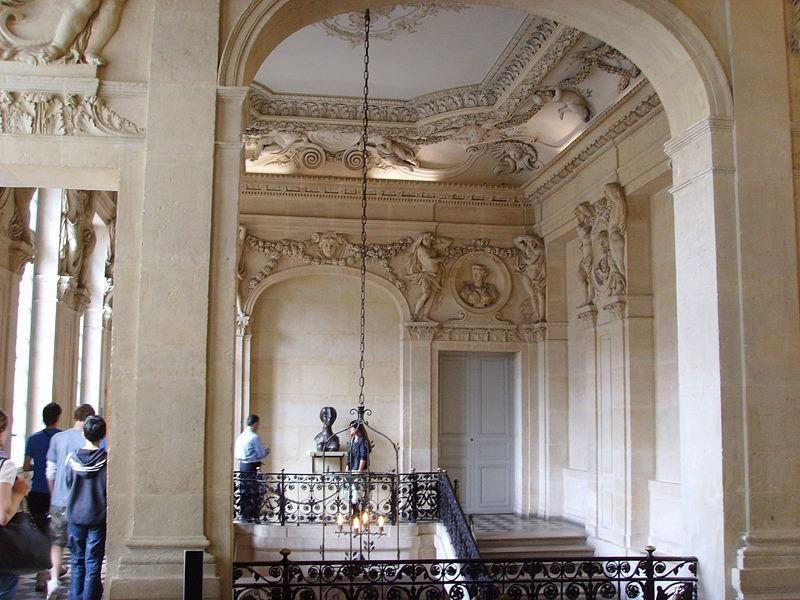 Hôtel Salé, Rue de Thorigny, fin XVIIème ancienne ambassade de la République de Venise, aujourd'hui musée Picasso - в Paris, France