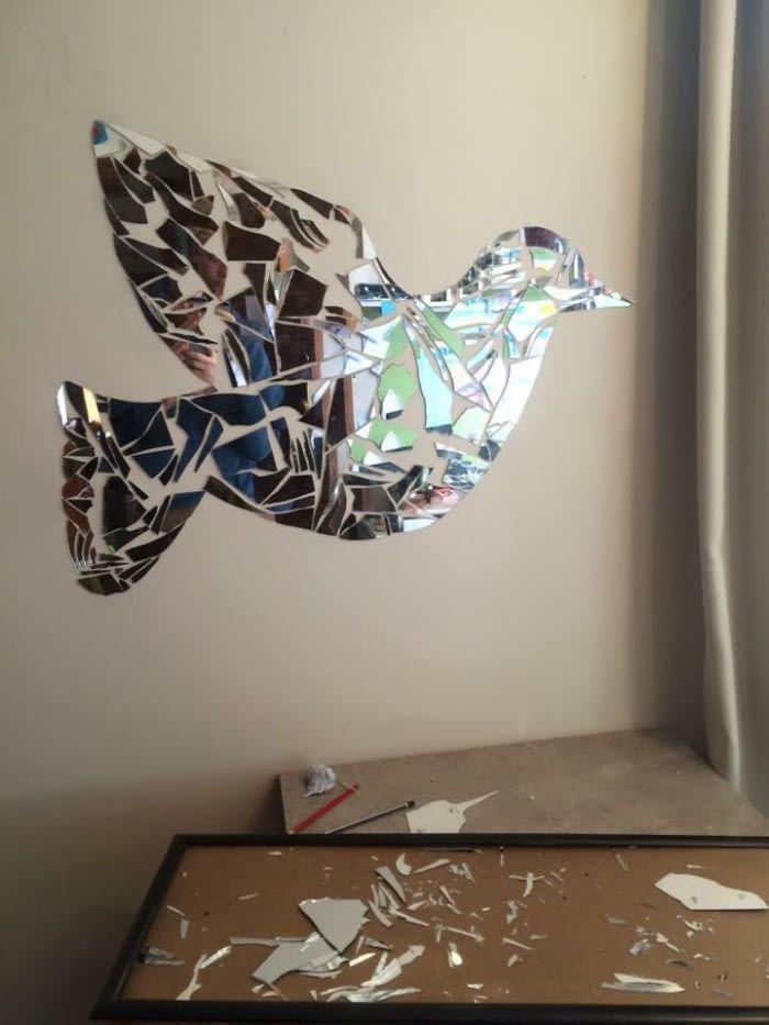 Broken Mirror, Beautiful Art