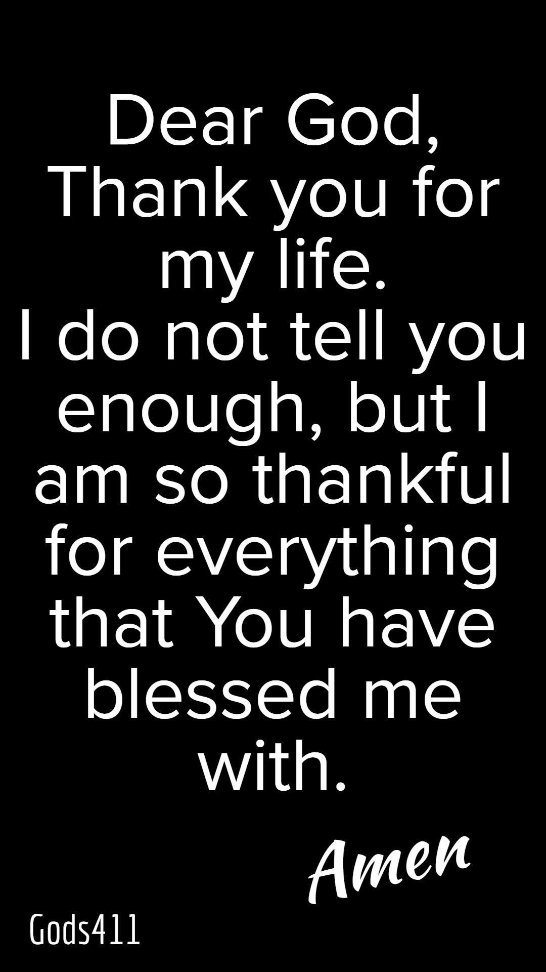 Take A Moment And Thank God For The Little Things In Your Life