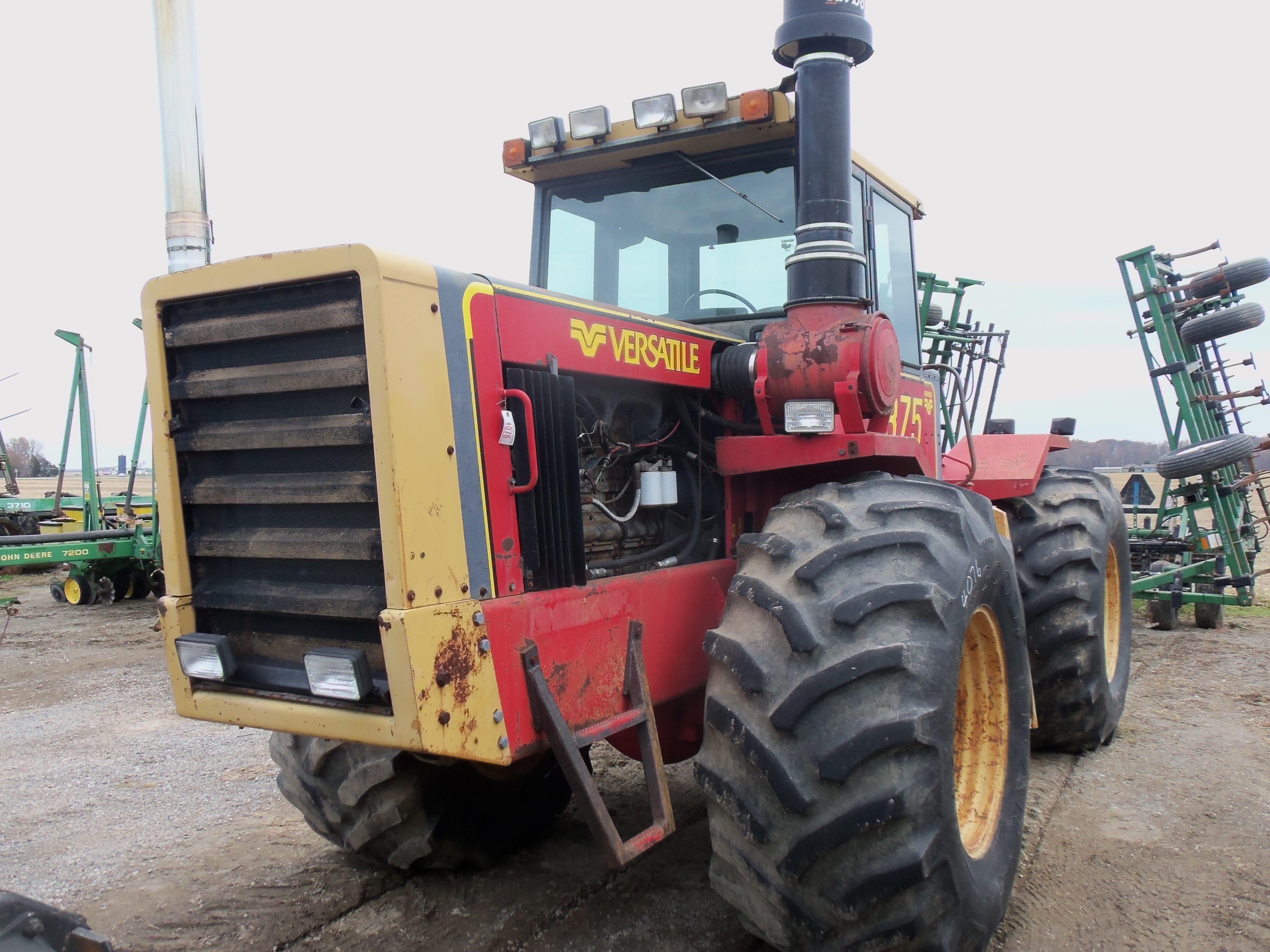Versatile 875 4wd Tractor Tractors Old Farm Equipment Vintage