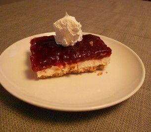 Gluten-Free Cranberry Dessert with Pretzel Crust