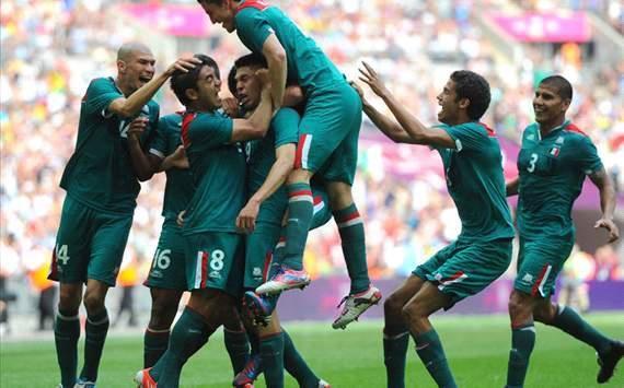 XXX Summer Olympics, London 2012, Mexico vs. Brazil.  Mexico wins GOLD! Viva Mejico, LINDO!!! ♥