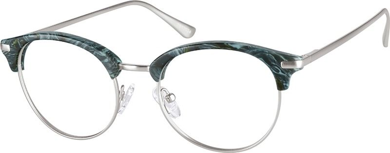 8e79366e8cb Green Agave Browline Glasses  7813024