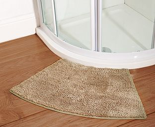 Buy Supersoft Microfibre Corner Shower Mat Online At Scotts Of
