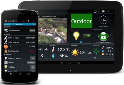 ImperiHome Android Home Automation App Adds Zipabox