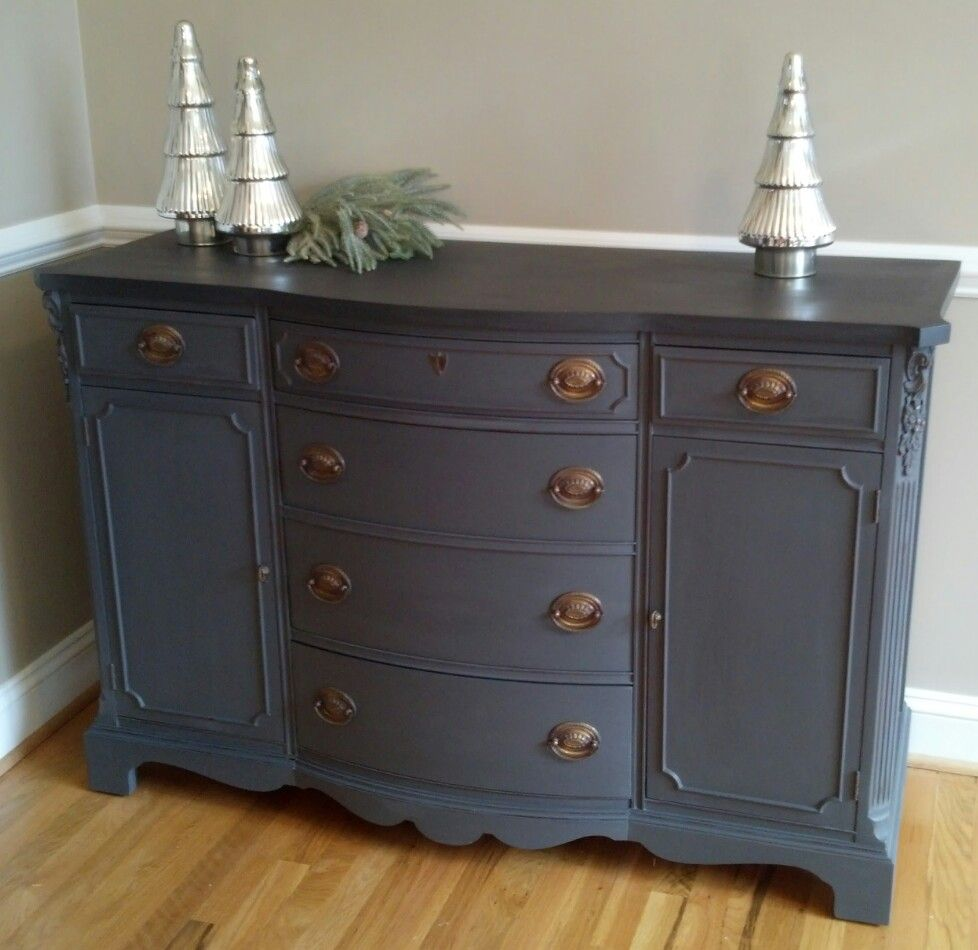 Annie Sloan Chalk Paint Graphite And French Linen