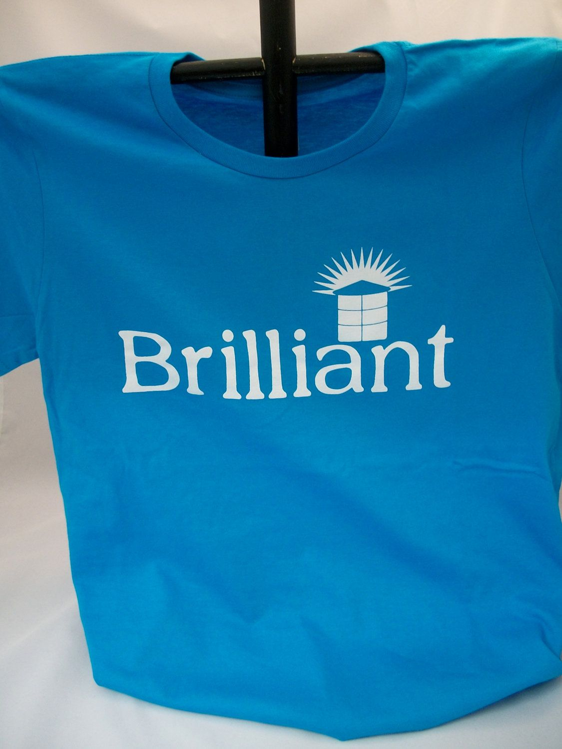 Clearance Brilliant Large Ladies Fitted Tee. $6.00, via Etsy.