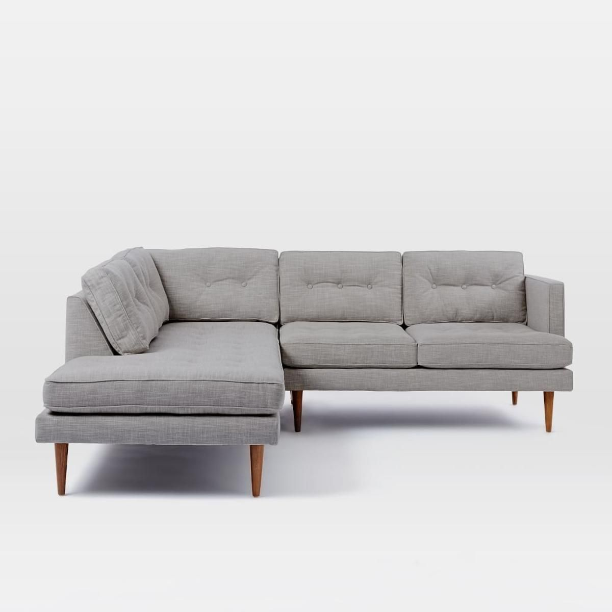 Mid Century Modern Bookshelf Mid Century Furniture Peggy Mid  ~ Mid Century Chaise Sofa