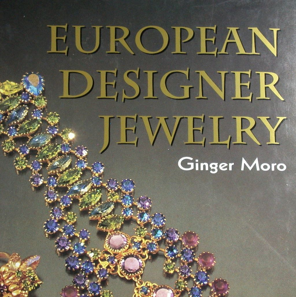 European Designer Jewelry by Ginger Moro Schiffer 1995 Books