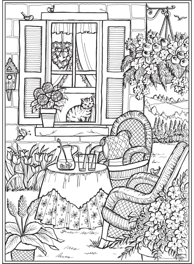 - Welcome To Dover Publications Coloring Pages, Cute Coloring Pages, Summer Coloring  Pages