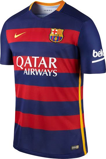 dac0d2fce Barcelona 15 16 - Home Kit