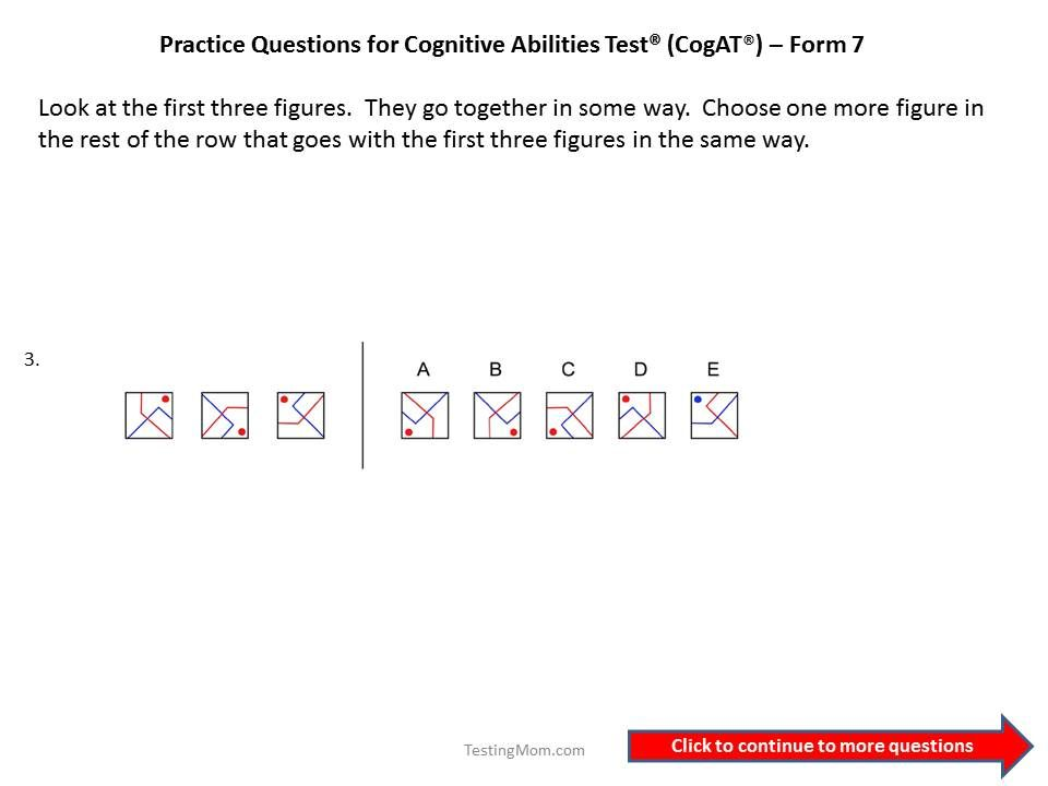 186 best images about Cognitive Abilities Test™ or CogAT® Free ...