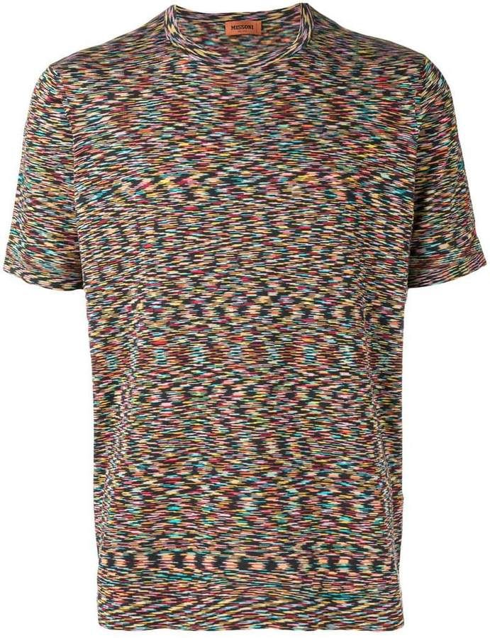 Missoni short-sleeve knitted T-shirt  c37943afc