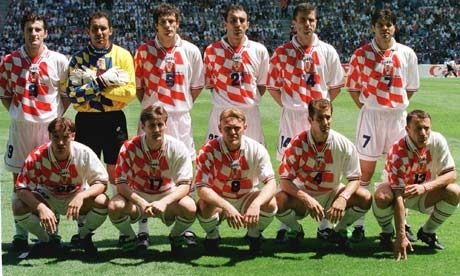 Proud Croatia continue to fly the flag for new nations