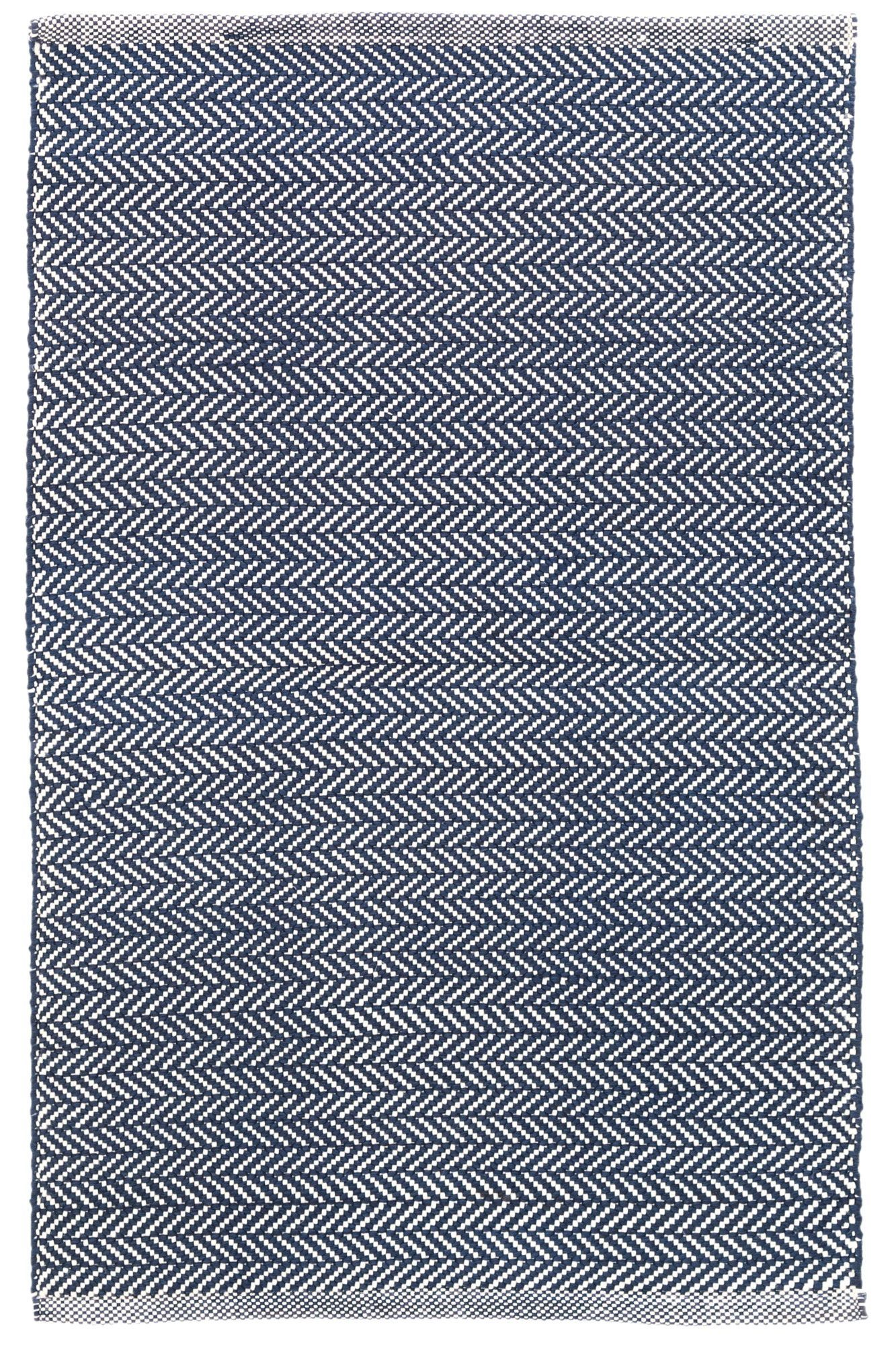 Dash And Albert Rugs C3 Herringbone Indigo Indoor Outdoor Area Rug Indoor Outdoor Rugs Dash And Albert Rugs Indoor Outdoor Area Rugs