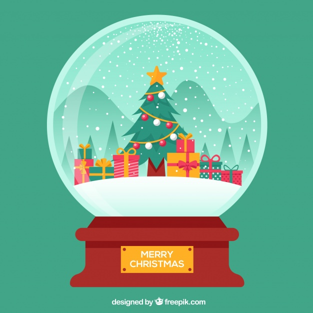 Download Snowball Background With Snow Tree And Gift Boxes For Free In 2020 Snow Tree Christmas Doodles Snowball