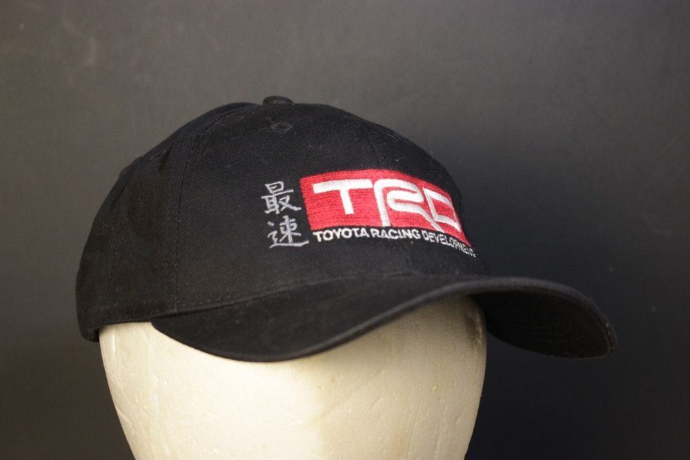24bd59d52540e Toyota TRD Hat Baseball Cap Strapback Adjustable Black Red Racing  Development  DogDaze  BaseballCap