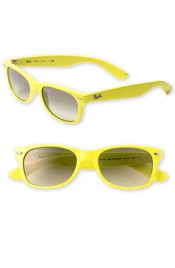 6b27f97b Gafasdesol @ray_ban con #montura amarilla #eyewear | Eyewear 2015 en ...