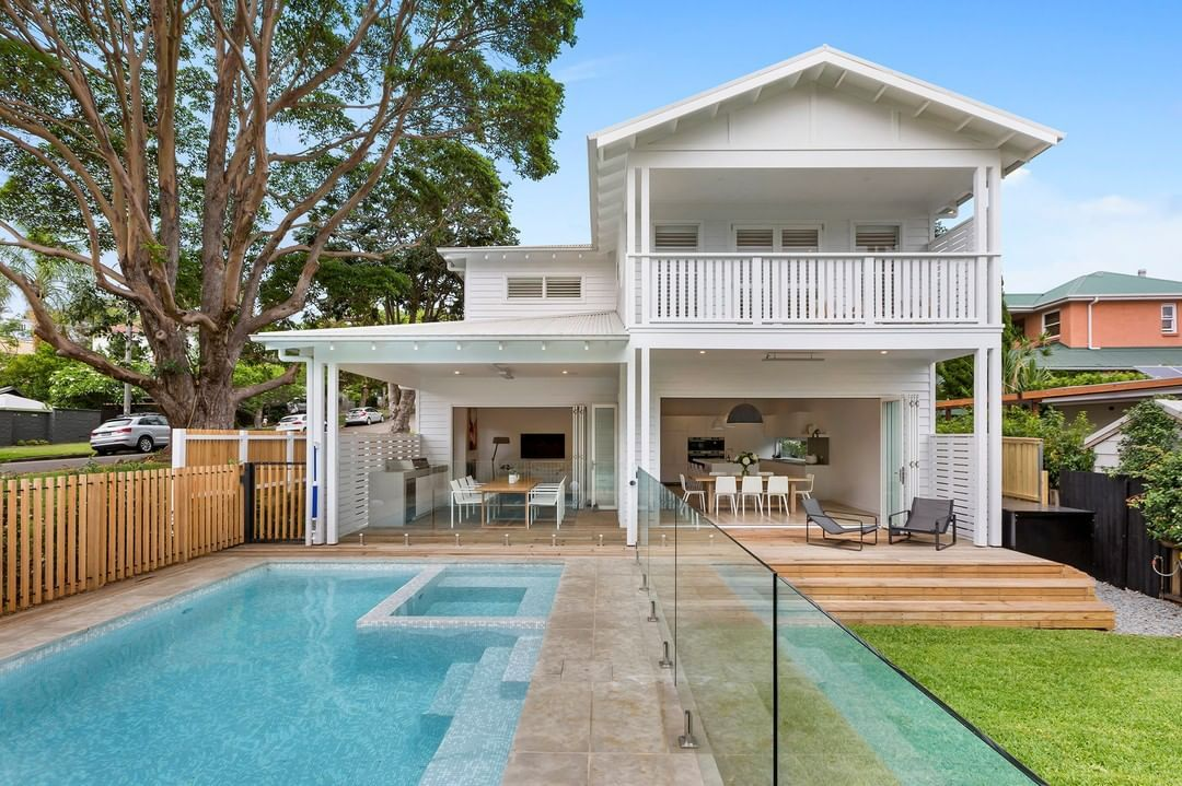 An Australian Dream house, this G.J. Gardner Brookvale home has everything you could want: a pool, large backyard, two-stories and plenty of space.