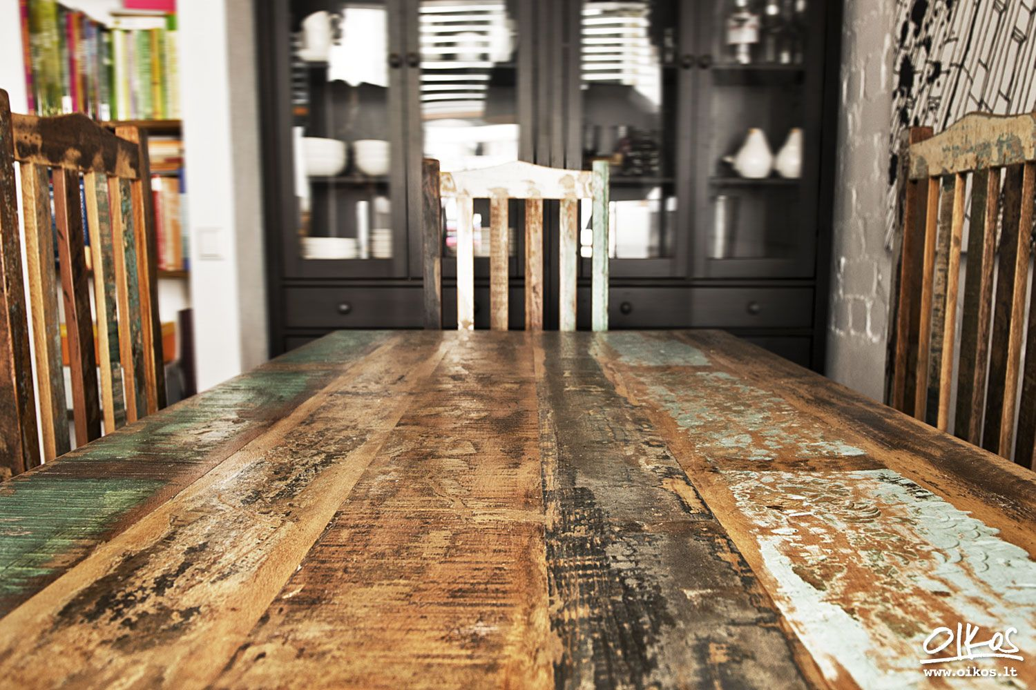 Reclaimed Wood Furniture From Crete Dining Table Kostas Reclaimed Wood Furniture Old Doors Reclaimed Wood