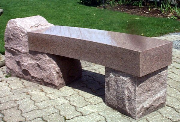 Etched Granite Monument Memorial Bench, Black Granite Memorial Bench    скамья стол стул камень stone bench table chair   Pinterest   Granite - Etched Granite Monument Memorial Bench, Black Granite Memorial