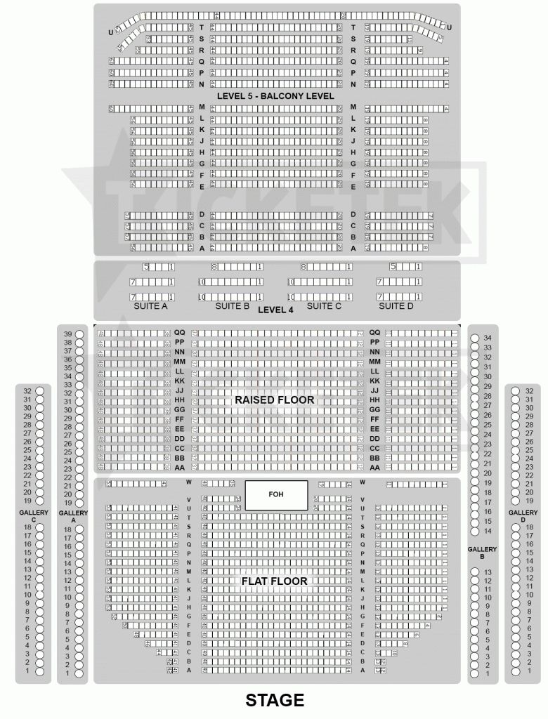 Elegant And Also Lovely Crown Theatre Perth Seating Plan