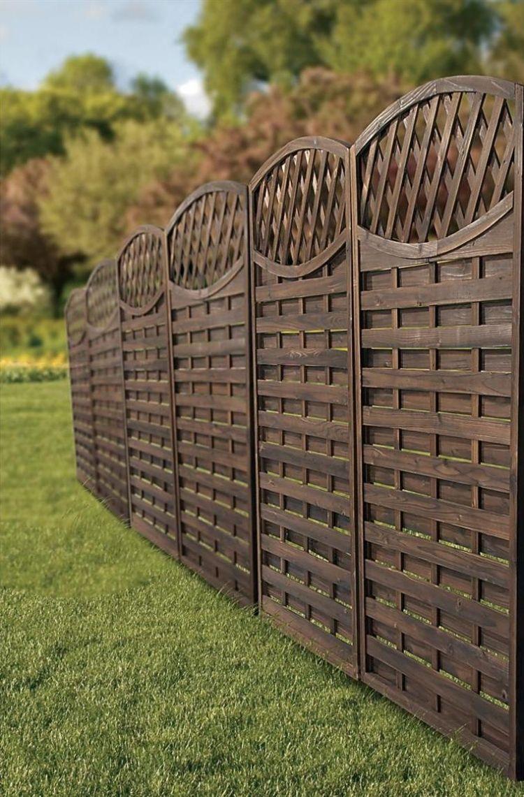 Sichtschutz Im Garten Holz Konstruktionen Und Sichtschutzzaune