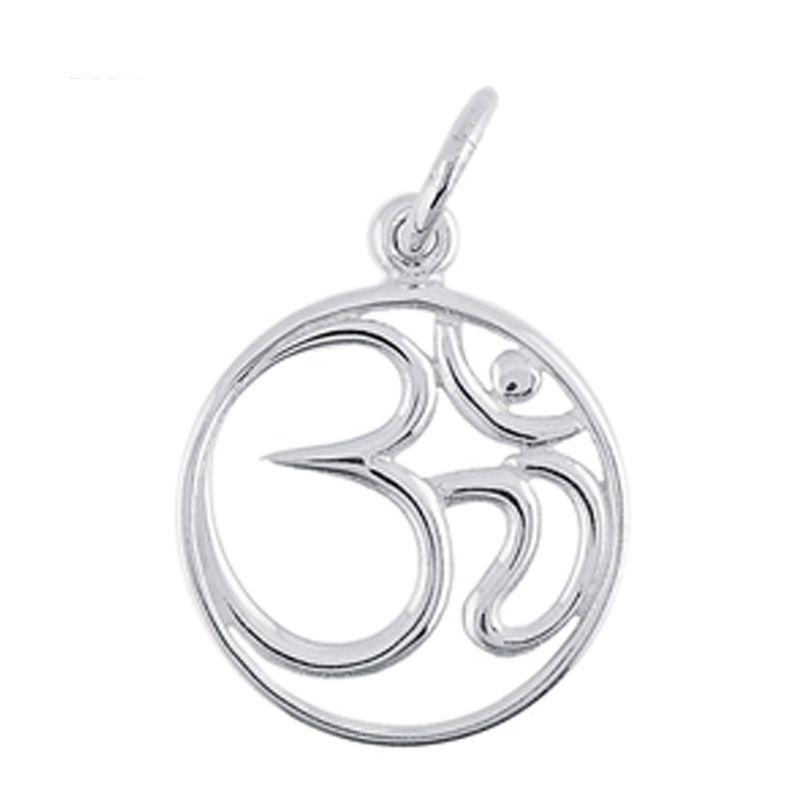#Yoga #Namaste #YogaJewelry #YogaForRunners #RunMollyRun #YogaJewelry #Necklaces #SterlingSilver www.runmollyrun.com  #Om